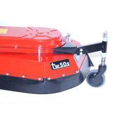 Tielburger Geveerd steunwiel, Accessoires TW50 en TW50S Onkruidborstelmachine