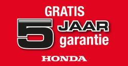Honda 5 Jaar Garantie